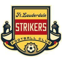 Fort Lauderdale Strikers Light Iron-on Stickers (Heat Transfers)