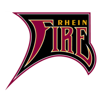 Rhein Fire 1998-2007 Alternate Logo1 Light Iron-on Stickers (Heat Transfers)