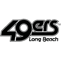0-Pres Long Beach State 49ers Alternate Logo Light Iron-on Stickers (Heat Transfers)