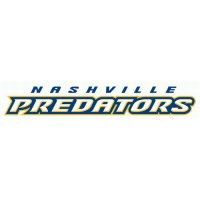 Nashville Predators Script Logo  Light Iron-on Stickers (Heat Transfers)