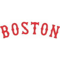 Boston Red Sox Script Logo  Light Iron-on Stickers (Heat Transfers) version 4