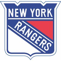 New York Rangers Primary Logo  Light Iron-on Stickers (Heat Transfers)