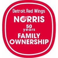 Detroit Red Wings Anniversary Logo  Light Iron-on Stickers (Heat Transfers)