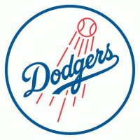Los Angeles Dodgers Alternate Logo  Light Iron-on Stickers (Heat Transfers)