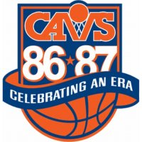 Cleveland Cavaliers Anniversary Logo  Light Iron-on Stickers (Heat Transfers)