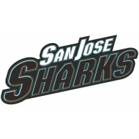 San Jose Sharks Script Logo  Light Iron-on Stickers (Heat Transfers) version 2