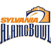 Alamo Bowl Primary Logos  Light Iron-on Stickers (Heat Transfers)