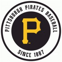 Pittsburgh Pirates Alternate Logo  Light Iron-on Stickers (Heat Transfers)