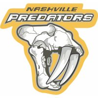 Nashville Predators Alternate Logo  Light Iron-on Stickers (Heat Transfers) version 2