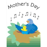 Happy Mother's Day Light Iron On Stickers (Heat Transfers) version 6