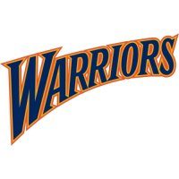 Golden State Warriors Script Logo  Light Iron-on Stickers (Heat Transfers) version 2