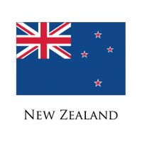 NEW ZEALAND Flags light iron ons