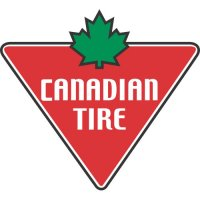 Canadian Tire logo Light Iron On Stickers (Heat Transfers)