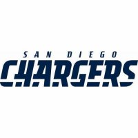 San Diego Chargers Script Logo  Light Iron-on Stickers (Heat Transfers) version 4