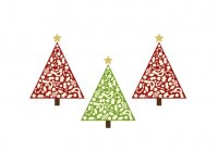 Personalized Christmas Decoration light-colored fabric iron on transfers Decal 5