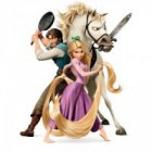 Tangled Rapunzel Iron Ons