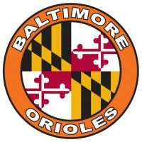 Baltimore Orioles Alternate Logo  Light Iron-on Stickers (Heat Transfers) version 1