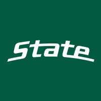0-Pres Michigan State Spartans Wordmark Logo Light Iron-on Stickers (Heat Transfers)