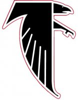 Atlanta Falcons Primary Logo  Light Iron-on Stickers (Heat Transfers)