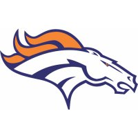 Denver Broncos Primary Logo  Light Iron-on Stickers (Heat Transfers)