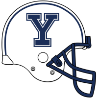0-Pres Yale Bulldogs Helmet Logo Light Iron-on Stickers (Heat Transfers)