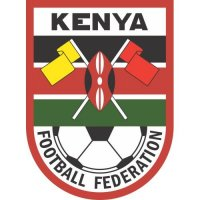 Kenya Football Confederation Light Iron-on Stickers (Heat Transfers)