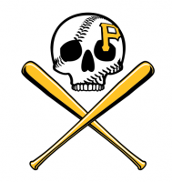 Pittsburgh Pirates Shirt Light Iron-on Stickers (Heat Transfers)