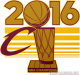 Cleveland Cavaliers 2016 Champion Logo Light Iron-on Stickers (Heat Transfers) version 2