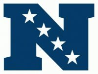 National Football Conference Primary Logo  Light Iron-on Stickers (Heat Transfers)