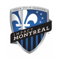 Montreal Impact Light Iron-on Stickers (Heat Transfers)