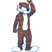 Auburn Tigers 1981-2003 Mascot Logo Light Iron-on Stickers (Heat Transfers)