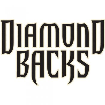 Arizona Diamondbacks Script Logo  Light Iron-on Stickers (Heat Transfers)