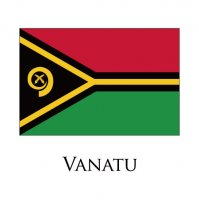 VANATU Flags light iron ons