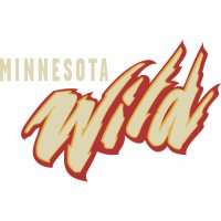 Minnesota Wild Script Logo  Light Iron-on Stickers (Heat Transfers) version 2