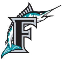 Florida Marlins Alternate Logo  Light Iron-on Stickers (Heat Transfers) version 2