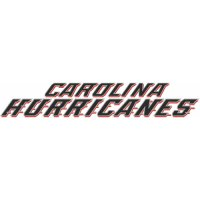 Carolina Hurricanes Script Logo  Light Iron-on Stickers (Heat Transfers) version 1