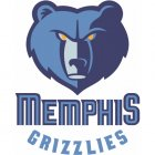 Memphis Grizzlies Iron Ons