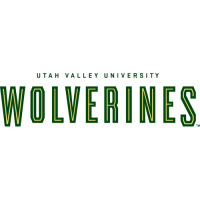 2007-Pres Utah Valley Wolverines Wordmark Logo Light Iron-on Stickers (Heat Transfers)