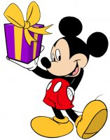 Mickey Mouse Birthday Present