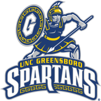2001-Pres NC-Greensboro Spartans Primary Logo Light Iron-on Stickers (Heat Transfers)