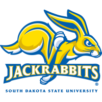 2008-Pres South Dakota State Jackrabbits Primary Logo Light Iron-on Stickers (Heat Transfers)