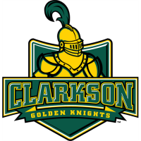 Clarkson Golden Knights 2004-Pres Alternate Logo2 Light Iron-on Stickers (Heat Transfers)