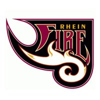 Rhein Fire Primary Logos  Light Iron-on Stickers (Heat Transfers)