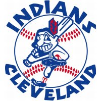Cleveland Indians Primary Logo  Light Iron-on Stickers (Heat Transfers)