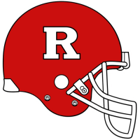 2001-Pres Rutgers Scarlet Knights Helmet Logo Light Iron-on Stickers (Heat Transfers)
