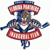 Florida Panthers Anniversary Logo  Light Iron-on Stickers (Heat Transfers)