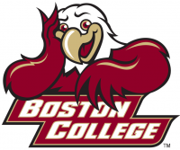 Boston College Eagles 2001-Pres Mascot Logo Light Iron-on Stickers (Heat Transfers)