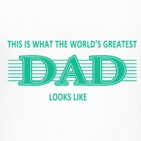 Father's Day T-shirts Light Iron On Stickers (Heat Transfers) 1