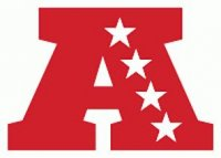 American Football Conference Primary Logo  Light Iron-on Stickers (Heat Transfers)