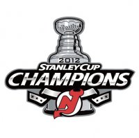 NHL Championship Primary Logo  Light Iron-on Stickers (Heat Transfers) of New Jersey Devils